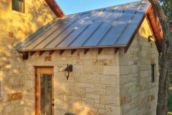 24 Gauge Standing Seam Metal Roof